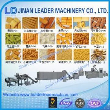 Puffed snack food processing machine extruded snacks wheat puffing machine