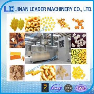 Automatic Puffed snack food processing machine extruder machine Jinan factory