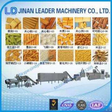 Puffed snack food processing machine extruder making machine factory price