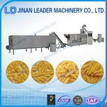 Small scale pasta manufacturing equipment single screw extruder