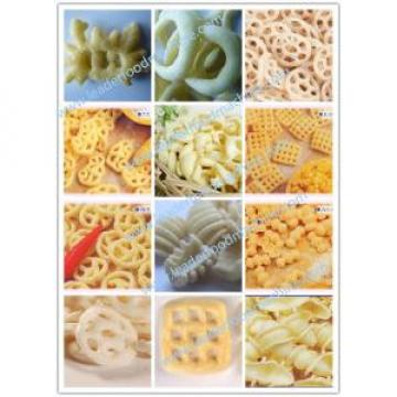 Industrial pellet food extruding and frying processing machines