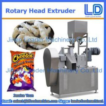 304 Stainless Steel Rotary head extruder for Niknak, cheetos, kurkure, cheese curls