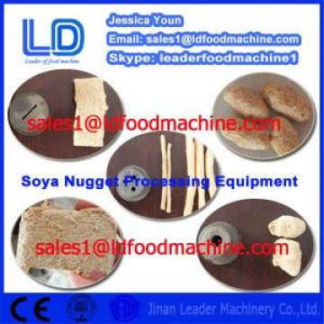 Automatic Vegetarian Soya Meat Prcessing Equipment made in China