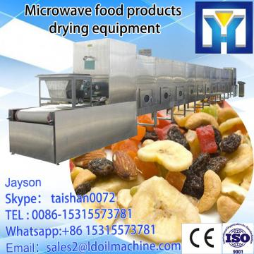 Hot sale chicken powder conveyor belt drying equipment/chicken powder microwave oven with new condition for sale