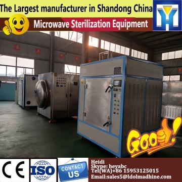 Microwave Mulberry leaf tea drying sterilizer machine