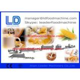 Electric Corn Flakes Making Machine ,Breakfast Cereals Process Line