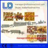Extruded Breakfast Cereals Corn Flakes making Machine 500kg / h