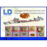 Double Screw Extruded Pellet Frying Snacks Machine For Extruded Snacks