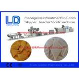 Industrial Extruded Pellet Frying Snacks Corn Chips Making Machine