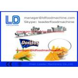Automatic Extruded Pellet Frying Snacks Machine  production process