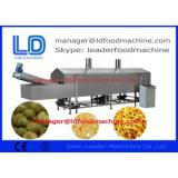 Food Processing Machinery Snacks Continuous Fryer machinery
