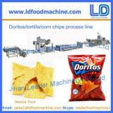 Corn chips processing line,Doritos/tortilla snacks food making machinery Supplier
