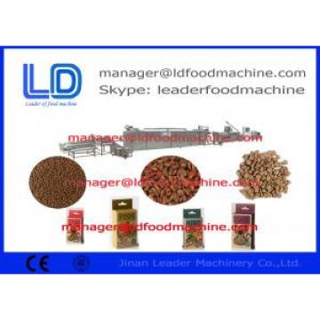 Automatic Stainless Steel Dog Cat Fish Pet Food Making Machine