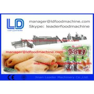 JInan Leader Core filled/ Puff  Snacks Processing Machinery,inflating snacks machine