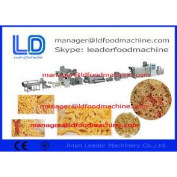 Screw Self-cleaning 3D Snack Pellet Machinery For Fried Snacks