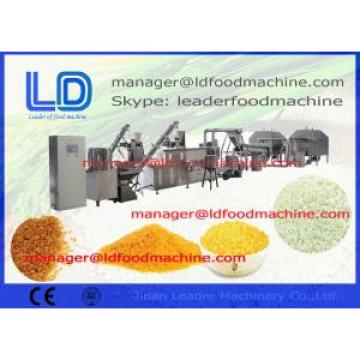 800kg  /h Crystal Artificial Rice Production Line / Nutritional Rice Machine