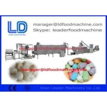 Screw Self-cleaning Snack Making Machine Food Grade with Three phases