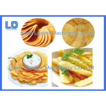 300kg / h Screw Self-cleaning Food Frying Potato Chips Making Machine