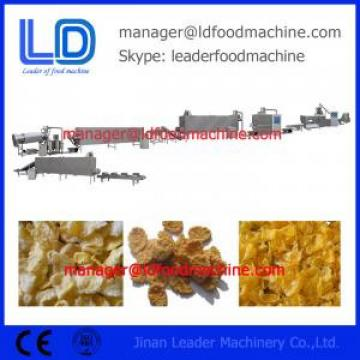 Low consumption corn flake making machine production process