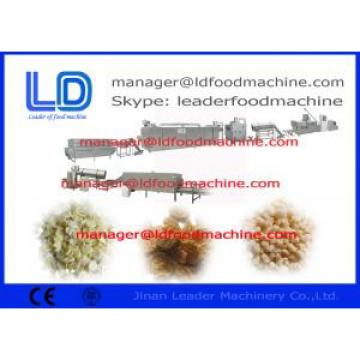 Rice Flakes / Breakfast Cereals / Corn Flakes Making Machine With Simens Motor