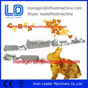 Extruded Breakfast Cereals Corn Flakes making Machine 500kg/h