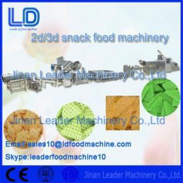 Potato Starch Crisp Food Frying Fry 3d Snack Pellet Machinery