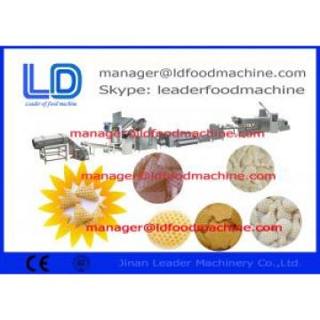 Screw Self-cleaning 3D Snack Pellet Machinery For Fried Snacks , Pellets Extruding Machine