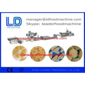 Corn Starch Crisp  Wheat Flour 3D Snack Pellet Machinery For Snack Food Making
