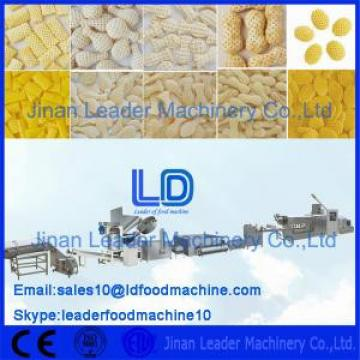 Low consumption Food Grade Stainless Steel 3D Snack Pellet Machinery