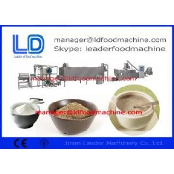 Screw Self-cleaning Rice Powder Making Machine , Automatic Rice Flour Grinding Machine
