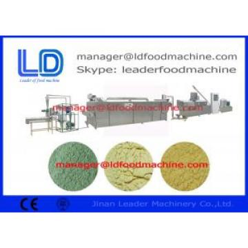 Low consumption  baby food Rice Powder Making Machine processing industries