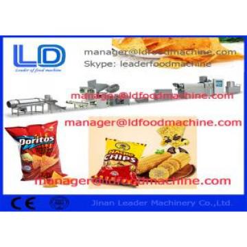 Tortilla Doritos Corn Chips Making Machine / Food Processing Equipment