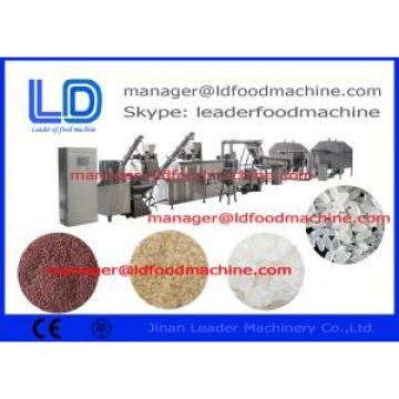 Low consumption  Extruded Artificial Rice Making Machine