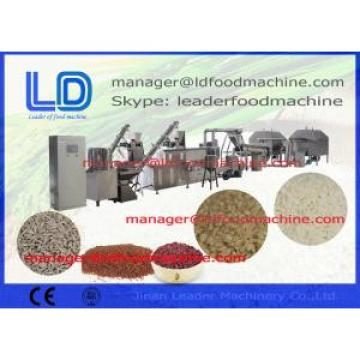 Airflow Popped Stainless Steel Artificial Rice Making Machine , 250kg / h
