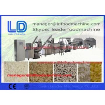 Stainless Steel Automatic Extruded Artificial Rice Making Machine , Nutrition Rice Machine