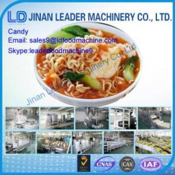 Easy operation fried instant noodles production line machine cookies