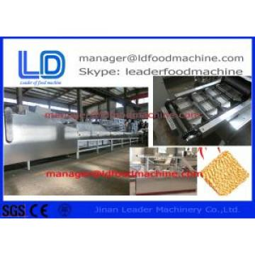Ramen Noodles / Instant Noodle machine , Three phases / Single phase extruded snacks machinery