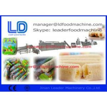 Core Filling Inflating Snacks Food Processing Line