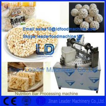 Low consumption perfect nutrition bars food processing machine manufacturer