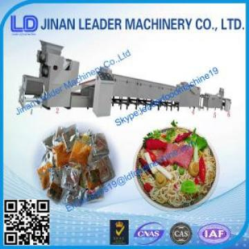 Chinese CE ISO certification Low price Mini instant noodles processing plant