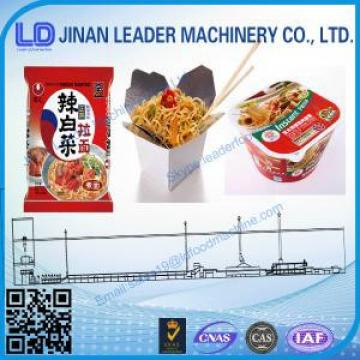 Best Chinese how to make  Large output instant noodle service machinery