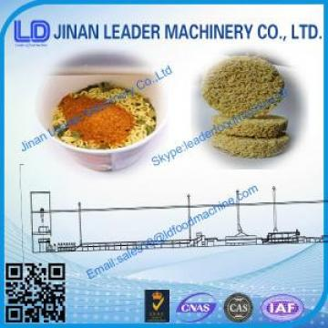 CE ISO certification instant noodle processing plant