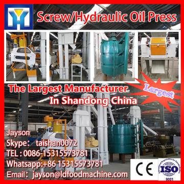 Higher efficiency crude edible oil refinery machine