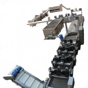 Fully Automatic Frozen Food French Fries Machine Production Line