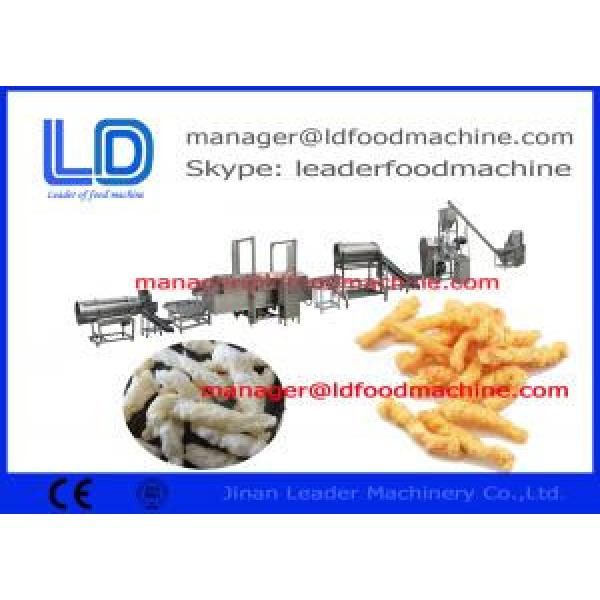 Automatic Kurkure Making Machine corn curls extruded snacks machinery #1 image
